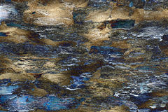 Blue brown textured background like lava Royalty Free Stock Photography