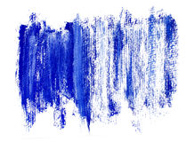 Blue brush strokes background Royalty Free Stock Photos