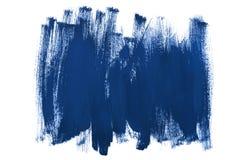 Blue brush strokes Royalty Free Stock Image