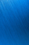 Blue brushed metal background Stock Images