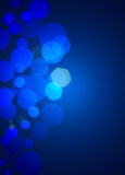 Blue bubble background Stock Photos