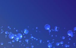 A blue bubble Stock Photography