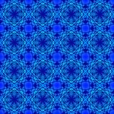 Blue bubble lace. Stock Image