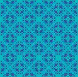 Blue bubble lace. Royalty Free Stock Photos