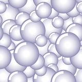 Blue Bubbles Stock Photography