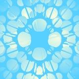 Blue bubbles Stock Image