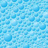 Blue Bubbles Seamless Pattern Royalty Free Stock Photo