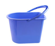 Blue Bucket Royalty Free Stock Photography