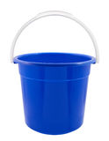 Blue Bucket Royalty Free Stock Images