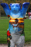 Blue Buddy Bear Stock Photos