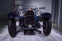 Blue 1932 Bugatti Type 55 Super Sport Stock Photography