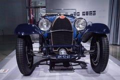 Blue 1932 Bugatti Type 55 Super Sport Stock Photos