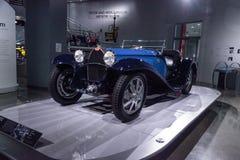 Blue 1932 Bugatti Type 55 Super Sport Stock Image