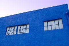 Blue Building Royalty Free Stock Photo