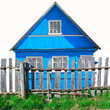 Blue building Royalty Free Stock Image
