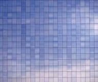 Blue Building Facade Stock Photos