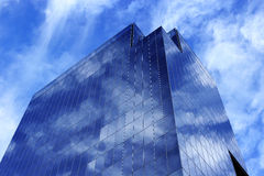 Blue building Stock Image