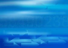 Blue buisness background with copy spac Royalty Free Stock Images