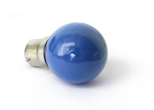 Blue bulb Royalty Free Stock Photography