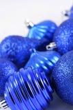 Blue bulbs Stock Image