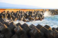 Blue bulgarian sea Royalty Free Stock Image