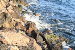 Blue bulgarian sea Stock Photography
