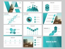 Blue Bundle infographic elements presentation template. business annual report, brochure, leaflet, advertising flyer,. Corporate marketing banner Stock Photos