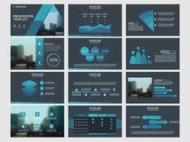 Blue Bundle infographic elements presentation template. business annual report, brochure, leaflet, advertising flyer,. Corporate marketing banner stock illustration