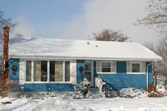 Blue Bungalow stock photography