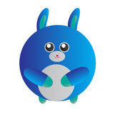 Blue Bunny Stock Images