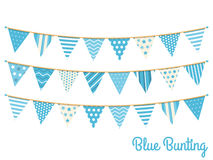 Blue Bunting Royalty Free Stock Photo