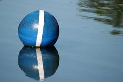 Blue buoy Royalty Free Stock Photos