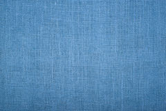 Blue burlap jute canvas texture background Royalty Free Stock Photography