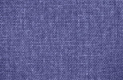 Blue Burlap texture as background Royalty Free Stock Photography