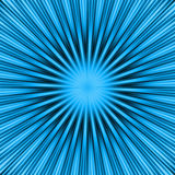 Blue Burst Royalty Free Stock Photography