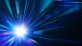 Blue burst, abstract background. For your artwork Royalty Free Stock Photography