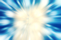 Blue burst abstract background Stock Images