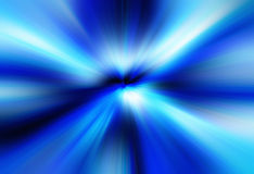 Blue Burst Background. Smooth blue and white burst on a black background Royalty Free Stock Photography