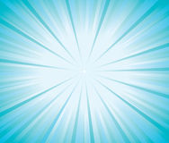Blue burst background vector Stock Photos