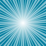 Blue burst background. Vector/illustration. Royalty Free Stock Photos