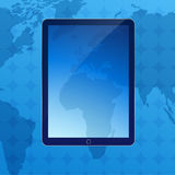 Blue business background Royalty Free Stock Images