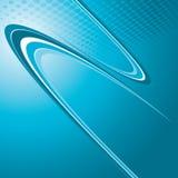 Blue business background Stock Image