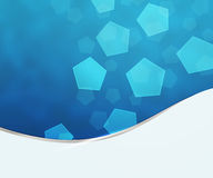 Blue Business Background Texture Stock Image