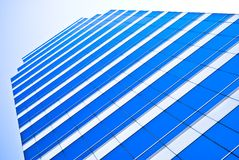 Blue business office building Royalty Free Stock Photography