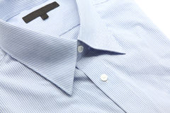 Blue business shirt Royalty Free Stock Images