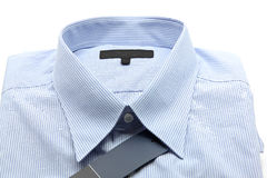 Blue business shirt Stock Photos