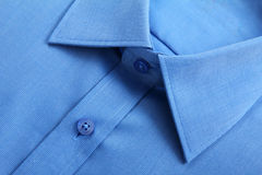 Blue business shirt. royalty free stock image
