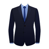 Blue business suit Stock Photography