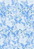 Blue butterflies Stock Photos