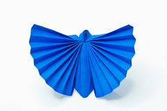 Blue butterfly paper Stock Photo